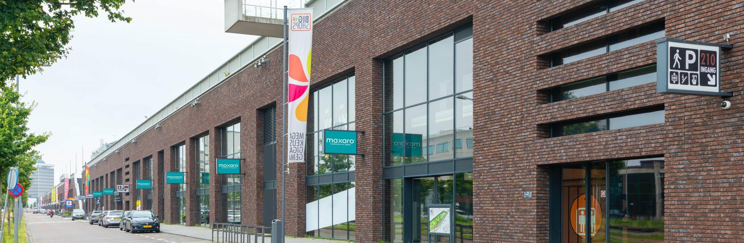 Maxaro naar Bigshops Rotterdam